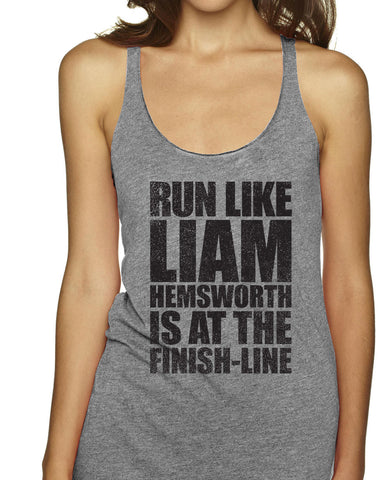 Run Like Liam Hemsworth Is At The Finish Line Racerbacks