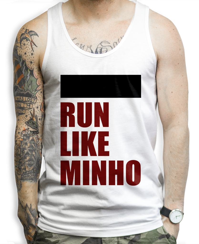 Run Like Minho on a Unisex Tank Top