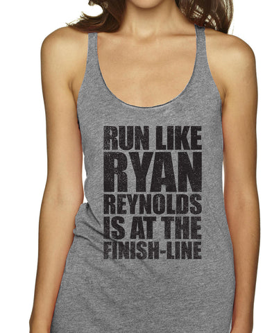 Run Like Ryan Reynolds Is At The Finish Line Racerbacks