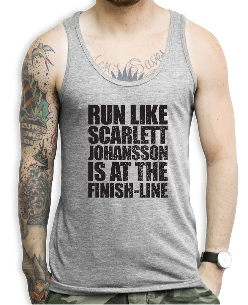 Run Like Scarlett Johansson Tank Top