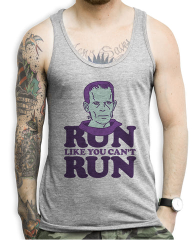 Run Like You Can't Run Tank Tops