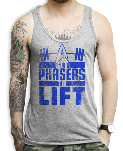 Set Phasers To Lift Tank Tops