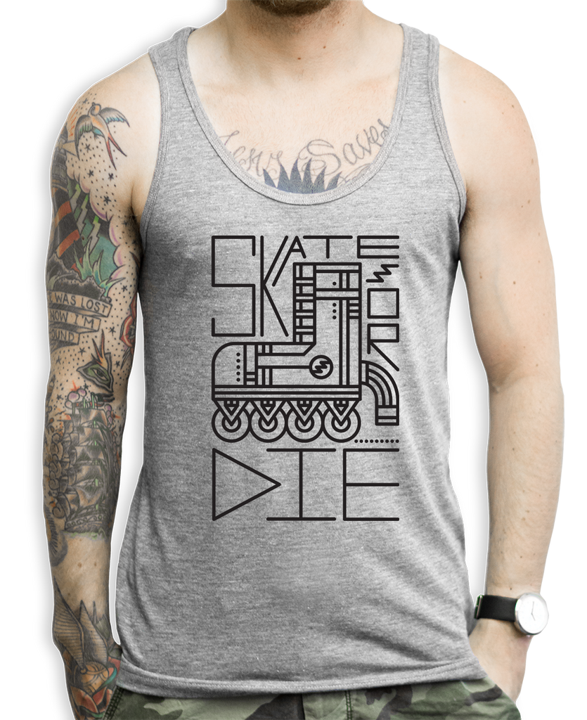 Skate Or Die Tank Tops