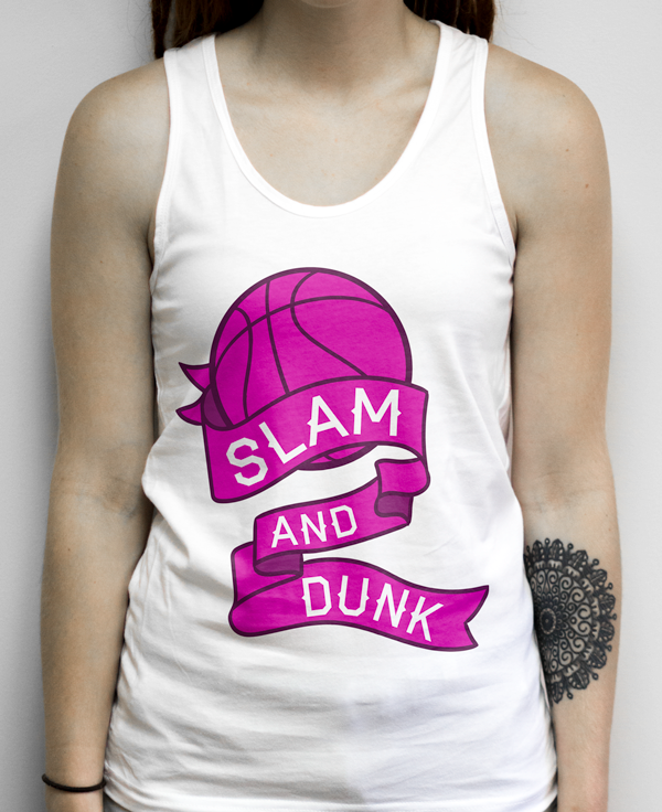 Girly Basketball Shirt