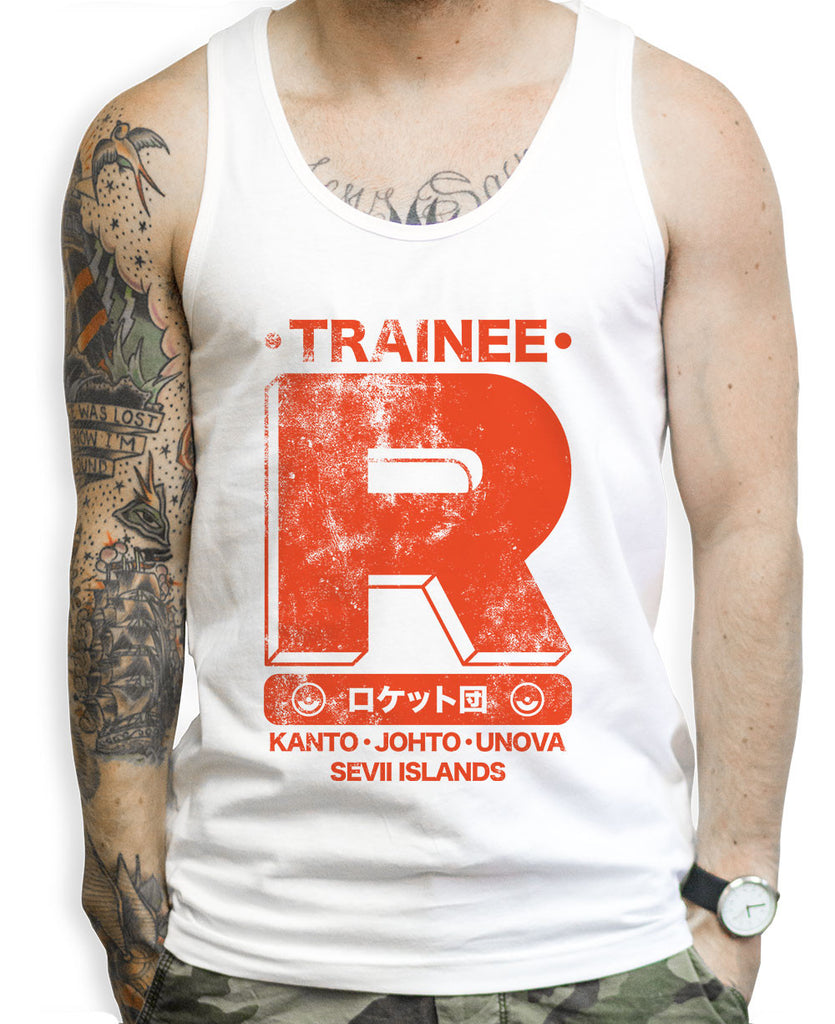 Team Rocket Trainee Tank Tops