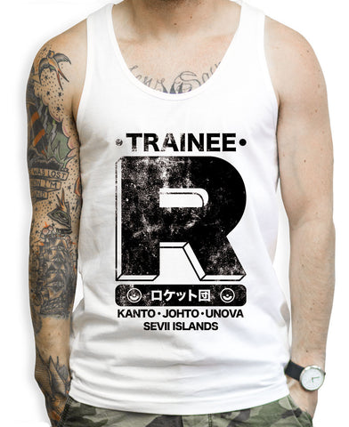 Team Rocket Training Tank Tops