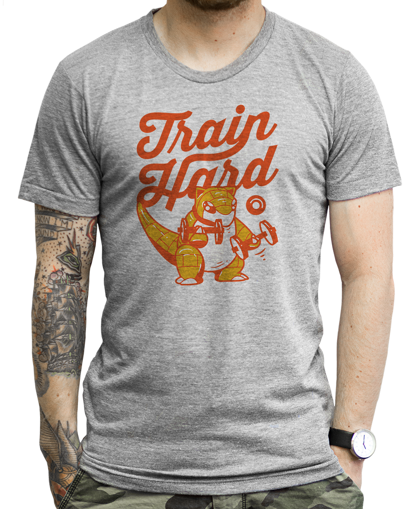 Train Hard T Shirts