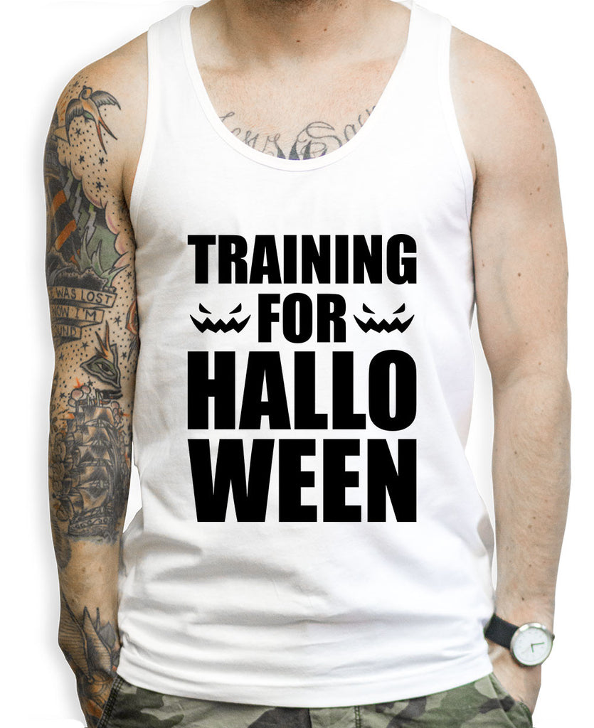 Training For Halloween Tank Tops