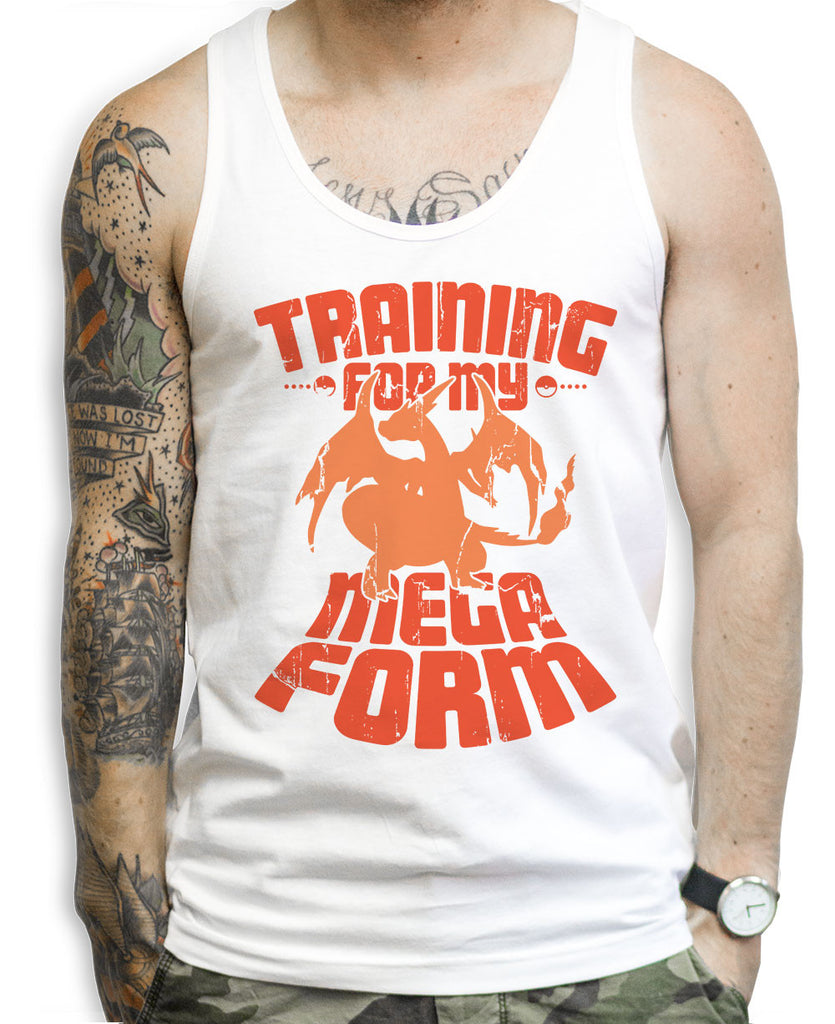 Training For My Mega Form Charizard Tank Tops