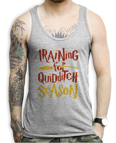 Training For Quidditch Season Gryffindor Tank Tops