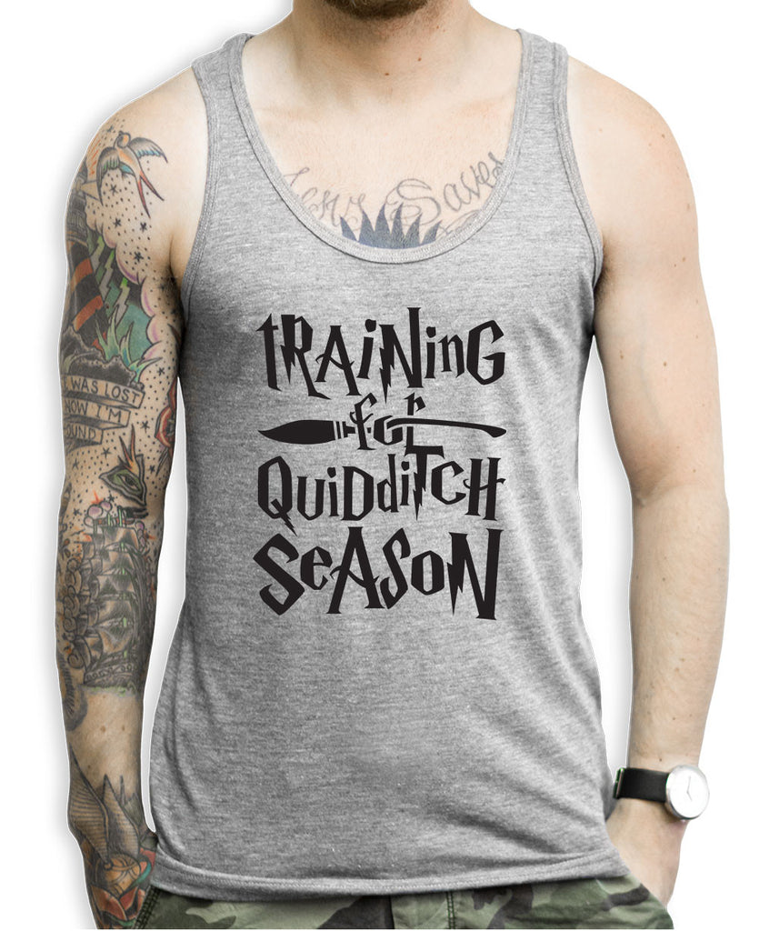 Training For The Quidditch Season Tank Tops