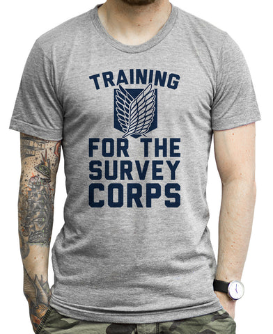 Survey Corps on a Unisex Tee Shirt