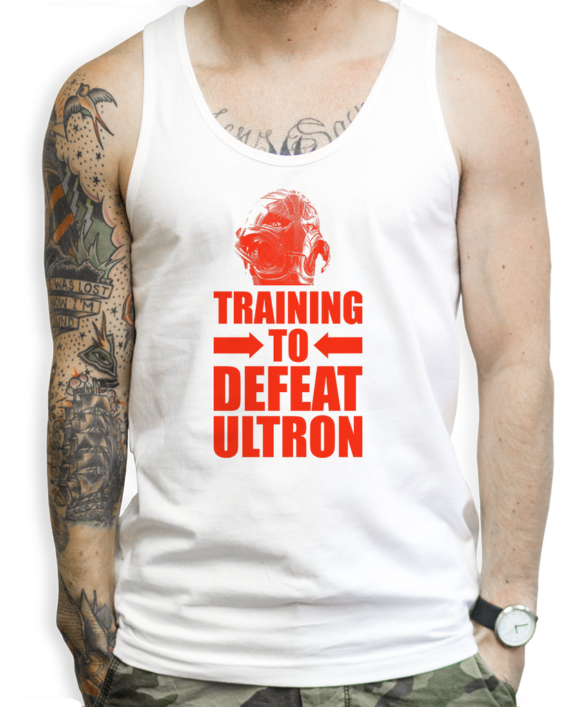 Training To Defeat Ultron Tank Tops