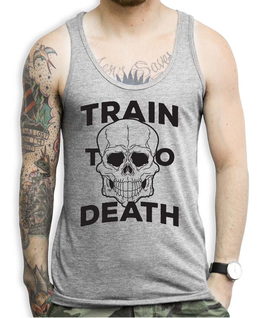 Train To Death Tank Tops