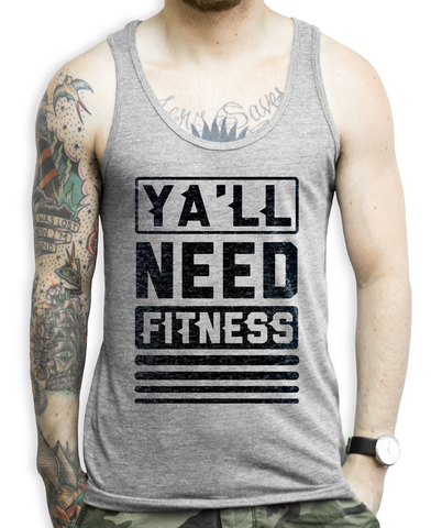 Motivational Workout Tank Top