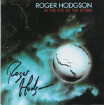 AUTOGRAPHED IN THE EYE OF THE STORM CD - REMASTERED SERIES