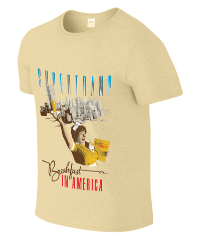 BREAKFAST THEMED TAN TOUR TEE
