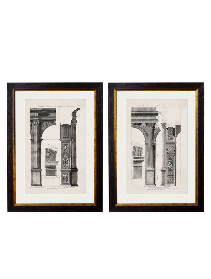 c.1796 Architectural Studies of Arches