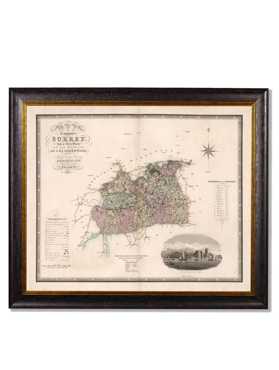 c.1830 County Maps of England