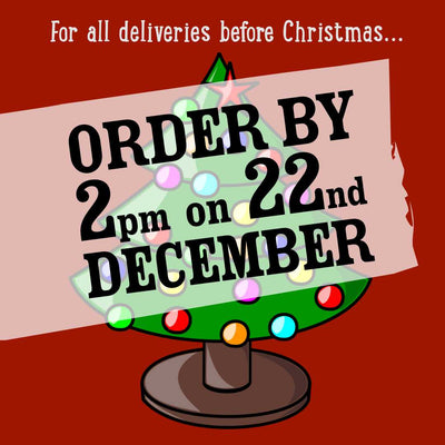 Last Date for Christmas Deliveries