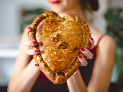 Heart Shaped Pasty - Valentines Day Gift
