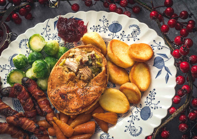 This Turkey and Ham pie is a real cracker!