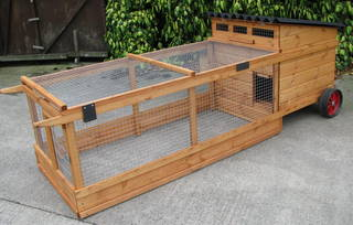 Aylesford Portable Coop (4-5 birds) - Free delivery