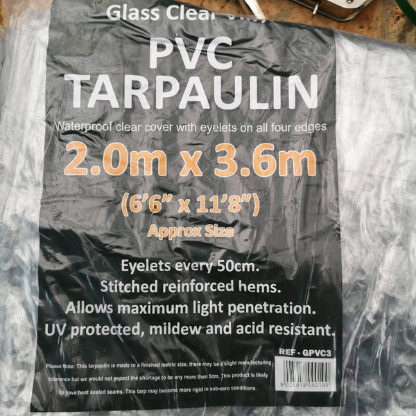 Tarpaulins and bungees for Chicken runs