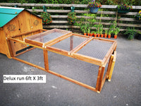 Wooden runs and pet panels