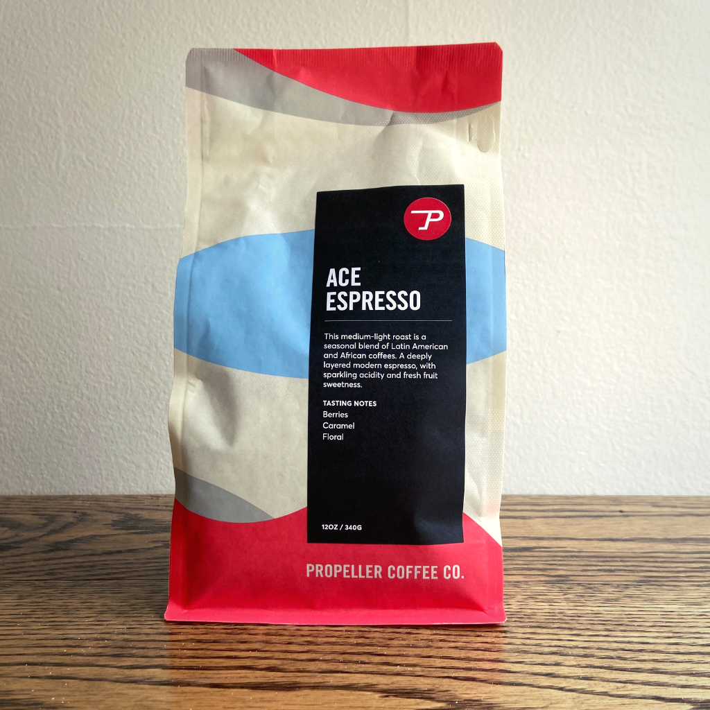 Propeller Coffee Ace Espresso  12oz