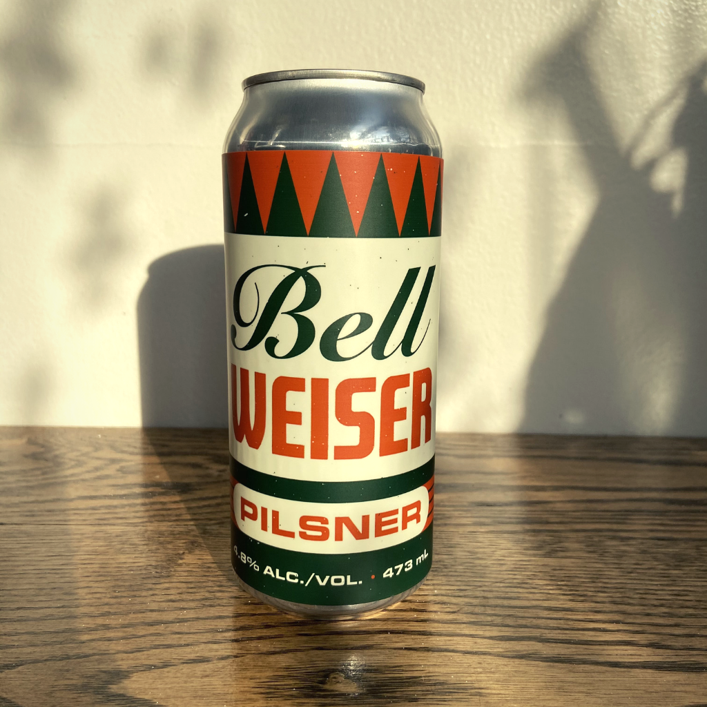 [12-Pack] Bellwoods Brewery Bellweiser Pilsner 473ml