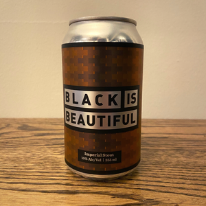 [4-Pack] Tooth and Nail Black is Beautiful American Imperial Stout 355ml