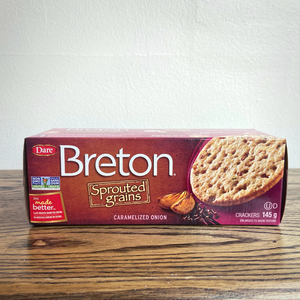 Breton Sprouted Grain Crackers - Onion (145g)