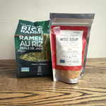 Load image into Gallery viewer, Jade Pearl Rice Ramen Miso Soup Kit