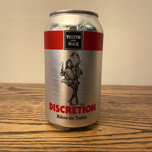[4-Pack] Tooth and Nail Discretion Bière de Table 355ml