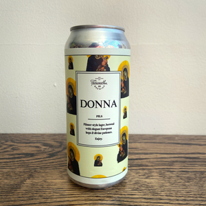 [4-Pack] Fairweather Donna Euro-Style Pilsner 473ml