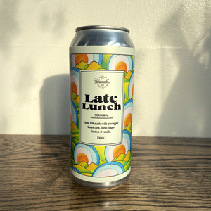 Fairweather Late Lunch Sour IPA 473ml