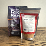 Load image into Gallery viewer, Forbidden Black Rice Ramen Miso Soup Kit