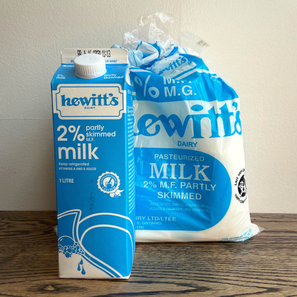 Hewitt's Dairy 2% Milk 1L or 4L