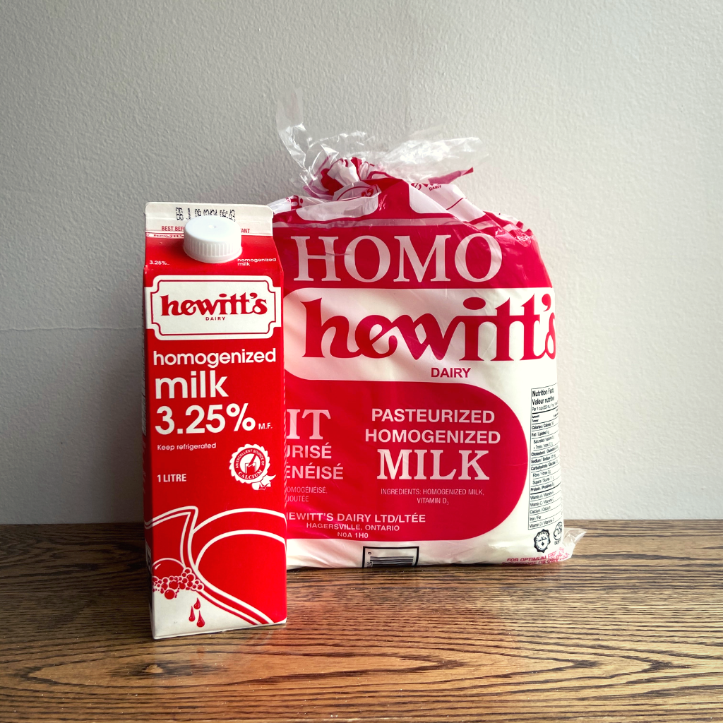 Hewitt's Dairy Homogenized Milk 1L or 4L