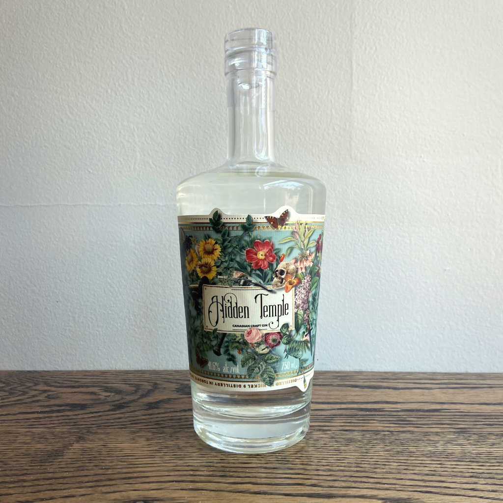Hidden Temple Gin (750ml)