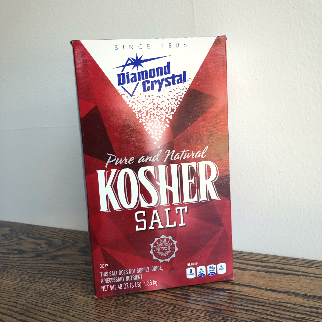 Diamond Crystal Kosher Salt 3lbs