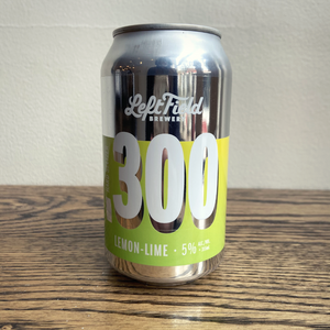 Left Field .300 Lemon-Lime Hard Seltzer 355ml