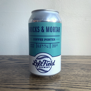 [4-Pack] Left Field Brick & Mortar Coffee Porter 355ml