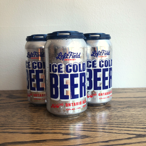 [4-Pack] Left Field Ice Cold Beer 355 ml