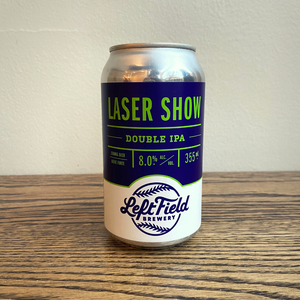 [4-Pack] Left Field Laser Show Double IPA 355ml