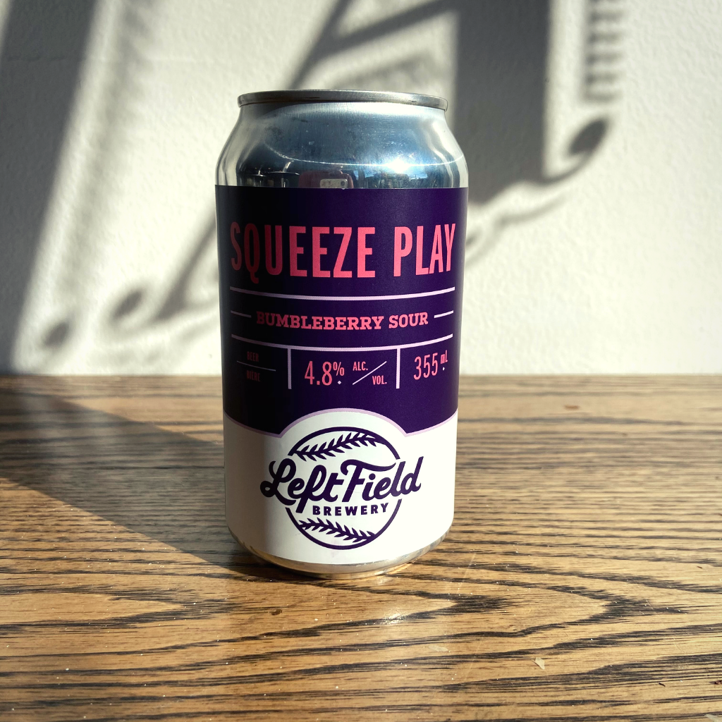 [12-Pack] Left Field Squeeze Play Bumbleberry Sour 355ml