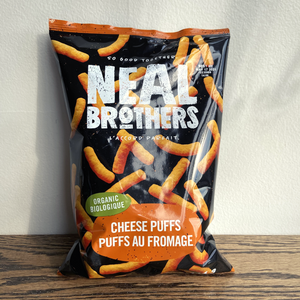 Neal Brothers Organic Cheese Puffs (113g)