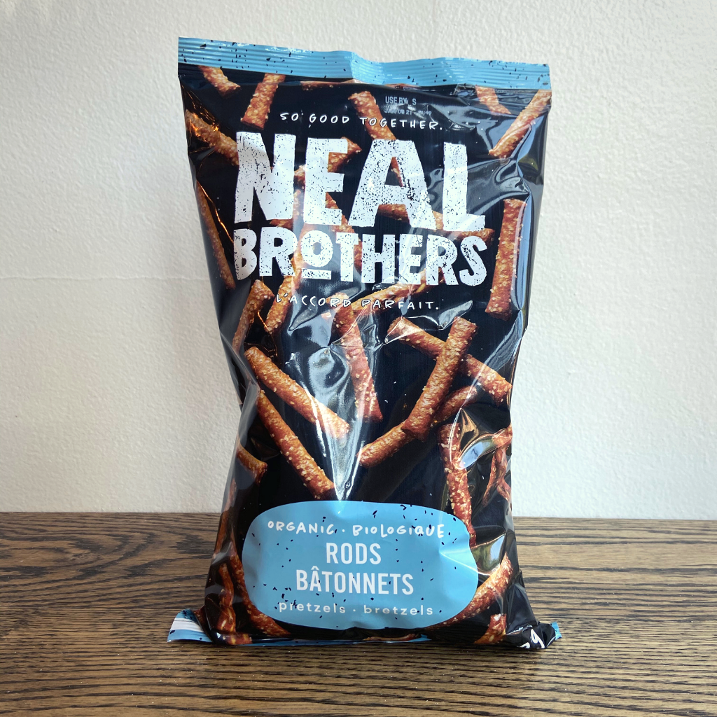 Neal Brothers Organic Pretzel Rods (280g)