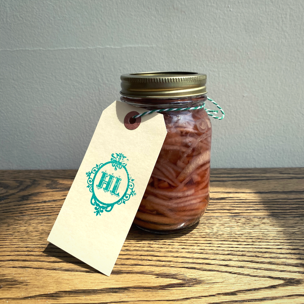 Image of Pickled Red Onion in Henrietta Lane
